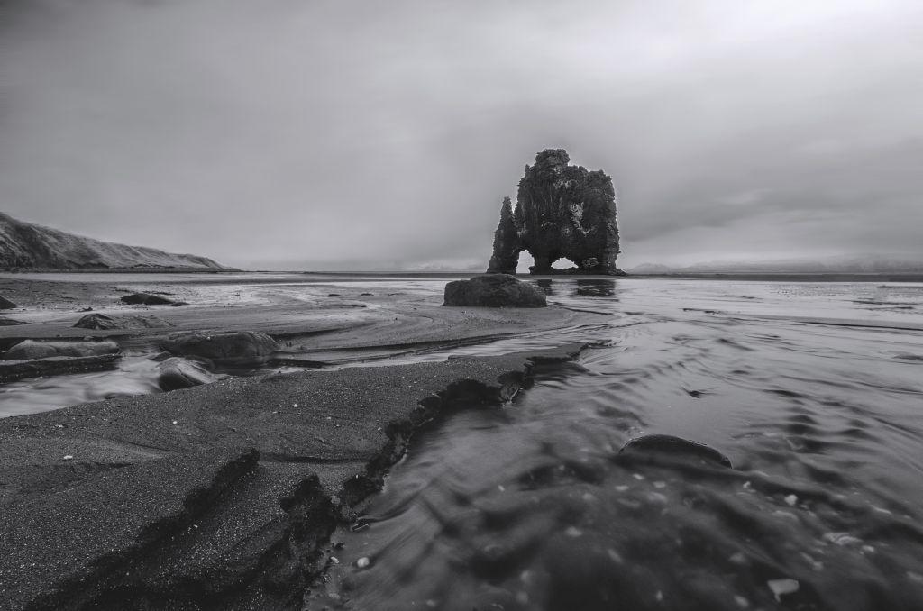 Hvitserkur Sea Stack in Northern Iceland