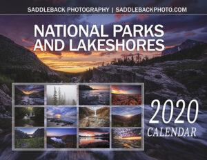Saddleback Photo 2020 National Parks Calendar