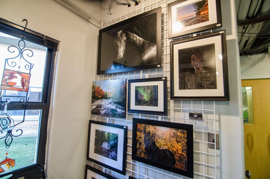 My space at Inspire Art Gallery